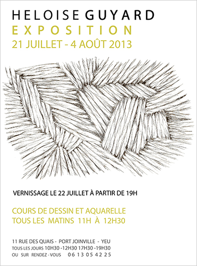 affiche expo yeu 2013