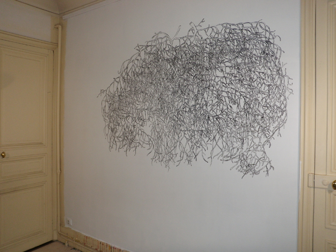 motif dessin sur mur resine de protection pour peinture