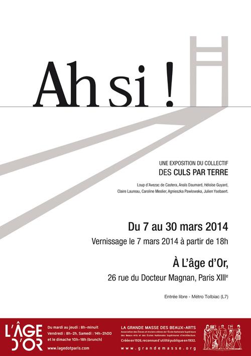 exposition Ah si! 7-30 mars 2014  web