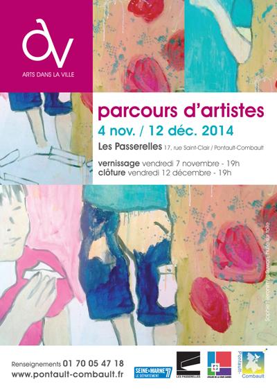 Invitation Parcours d'Artistes 2014-1