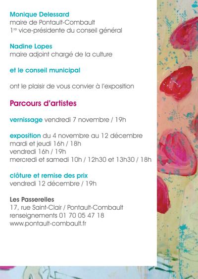 Invitation Parcours d'Artistes 2014-2